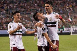 México ganó y lidera su grupo