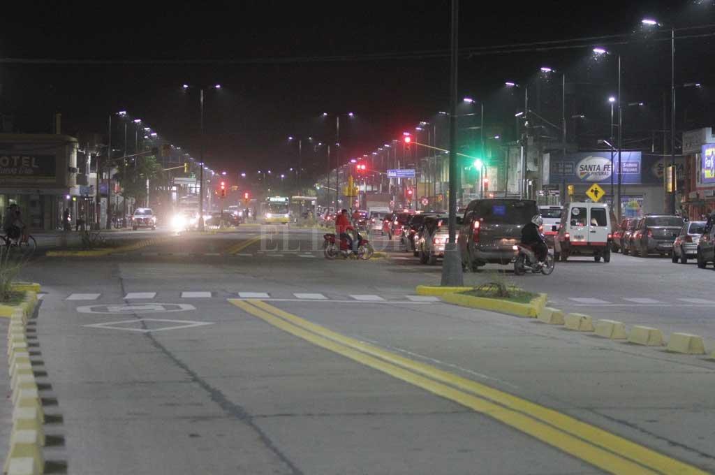El hecho ocurrió sobre la transitada avenida Blas Parera Crédito: Archivo El Litoral / Manuel Fabatía