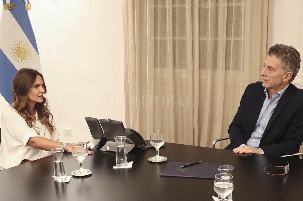 El viernes pasado Amalia Granata se reunió con el presidente Mauricio Macri. <strong>Foto:</strong> El Litoral