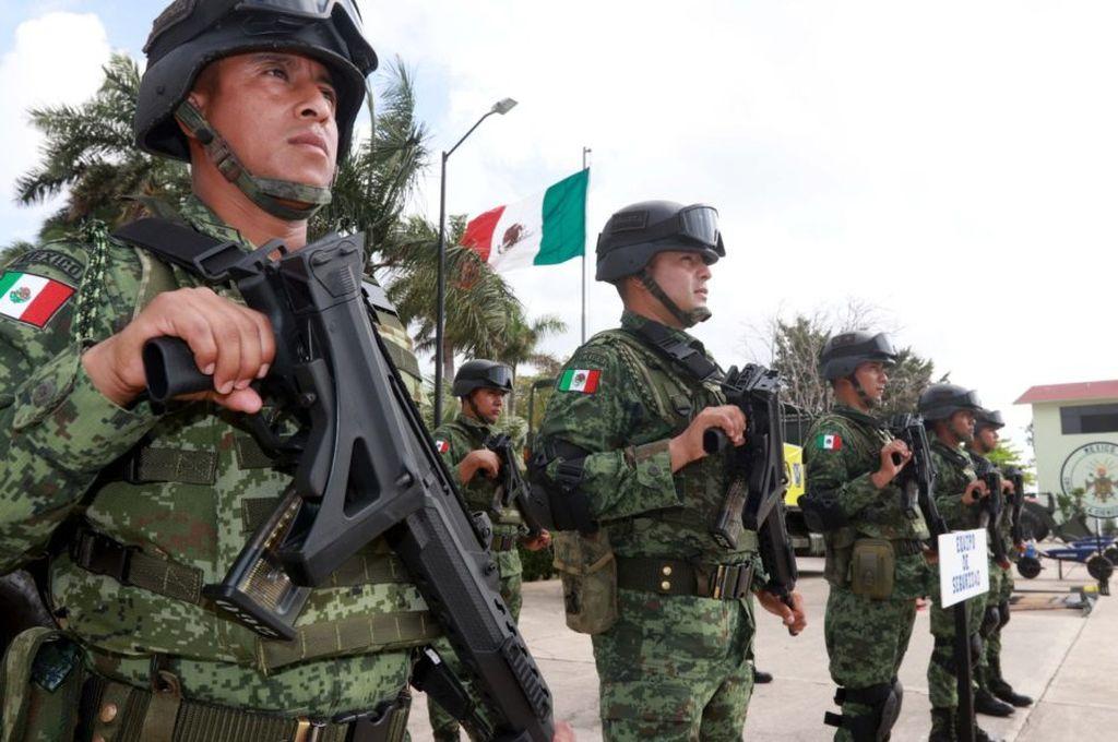 México despliega 15.000 efectivos en la frontera con EEUU para frenar las migraciones