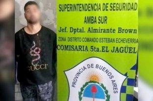 """Detienen a un hijo del boxeador """"Patón"""" Basile por un asesinato - Detención de Emiliano Ariel Basile (24). -"""