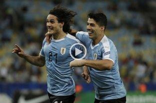 Uruguay derrotó a Chile y se quedó con el grupo C -  -