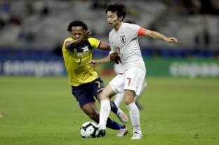 Paraguay pasó a cuartos de final por el empate entre Ecuador y Japón  -  -
