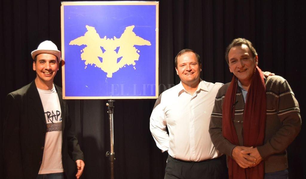 """El equipo que realizó """"Terapia"""": Fernando Belletti, Franco Pauloni y Sergio Cangiano. <strong>Foto:</strong> Gentileza producción"""
