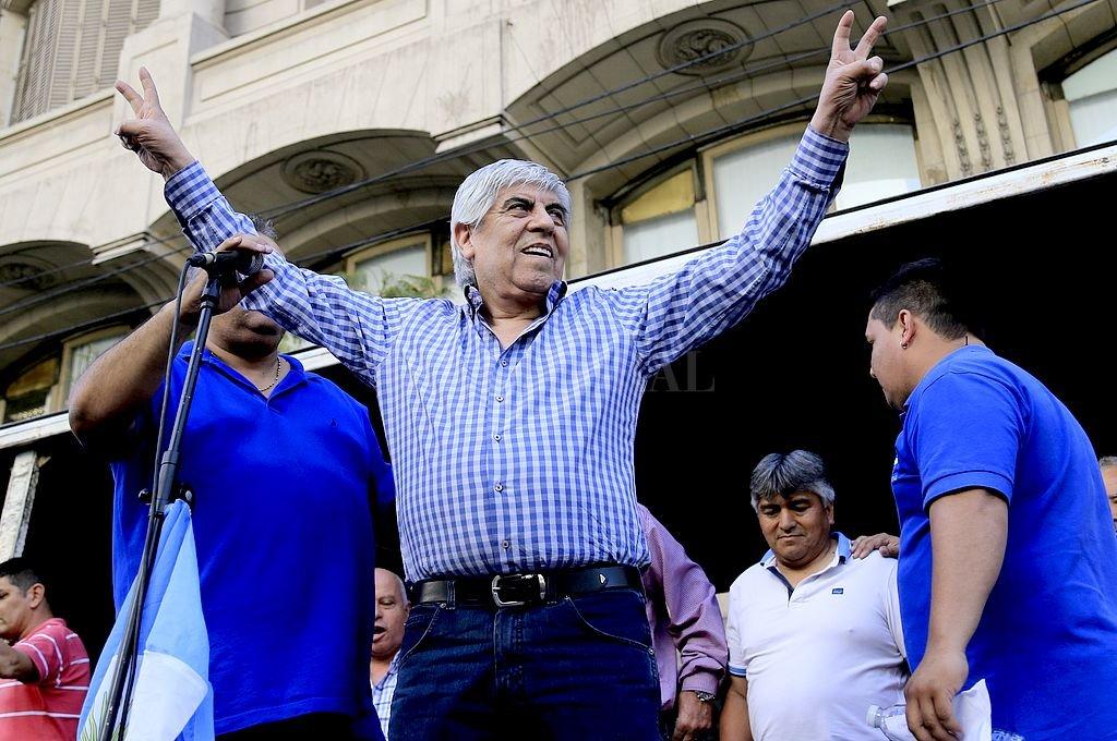 Hugo Moyano. <strong>Foto:</strong> Archivo El Litoral