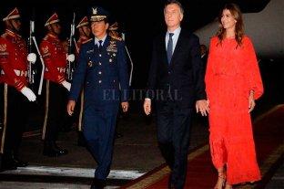 """Macri sobre Indonesia: """"es un socio comercial clave para el presente y futuro de la Argentina"""" -  -"""