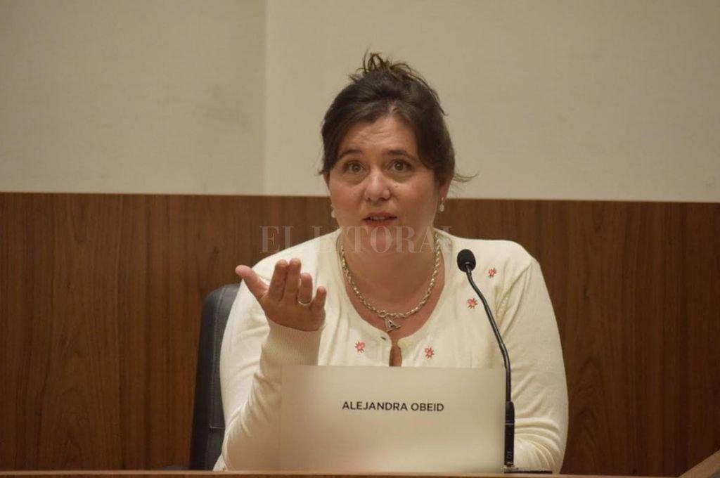 Alejandra Obeid. <strong>Foto:</strong> Archivo El Litoral