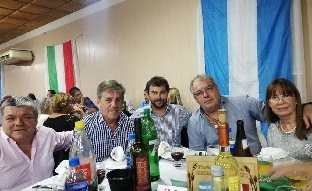 El intendente electo Emilio Jatón participó de la Fiesta del Inmigrante Italiano en San Agustín. <strong>Foto:</strong> Captura de Internet