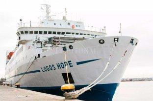 La biblioteca flotante Logos chocó contra un buque en el río Paraná -