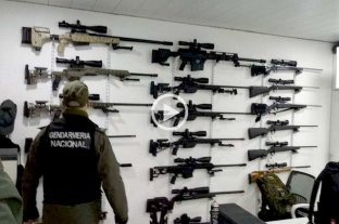 Realizaron el mayor decomiso de armas de la historia del país -