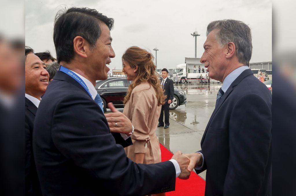 Macri llegó a Japón con un discurso en defensa del multilateralismo