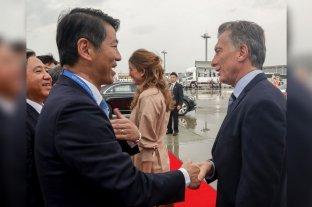 Macri llegó a Japón con un discurso en defensa del multilateralismo -  -
