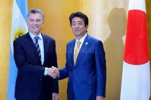 """Macri ratificó la sociedad """"estratégica"""" de Argentina con Japón -  -"""