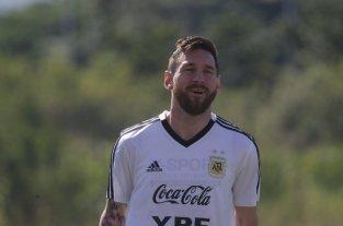 Hay que tirarles encima la chapa, la historia y la calidad - Lio Messi, en el último entrenamiento en Río -