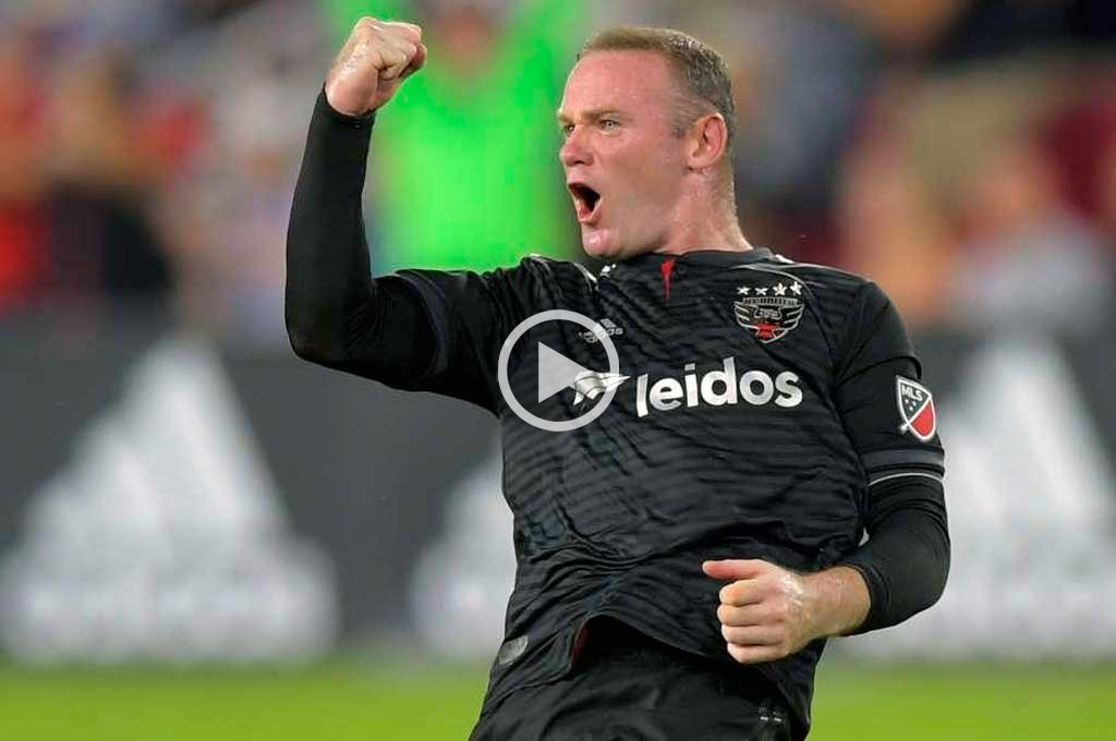 Video: golazo de Rooney en la MLS