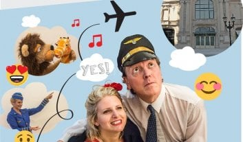 "Teatro para aprender inglés y divertirse - ""Subite al Airplane, Flying to Fantastic Worlds"". -"