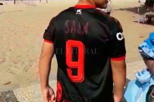 Santafesinos de Progreso homenajean a Emiliano Sala en la Copa América