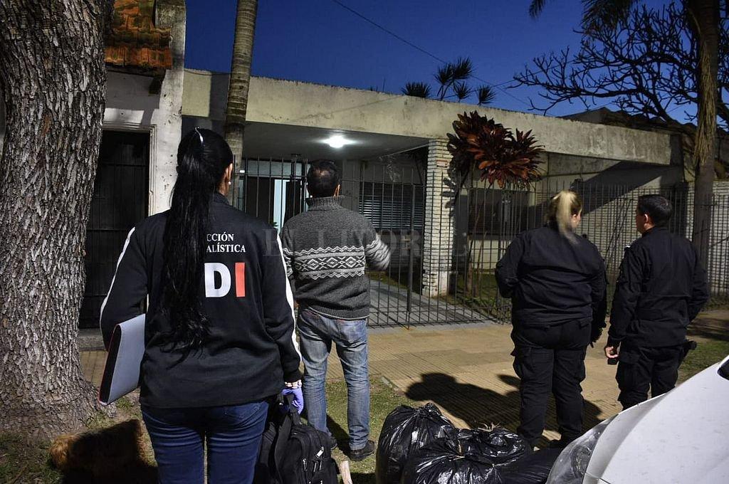 Vivienda del barrio Guadalupe en la que se produjo el robo. Crédito: Luis Cetraro