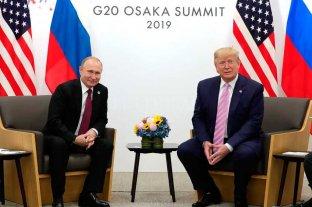 """Trump irónico con Putin: """"No interfieras en las elecciones"""""""