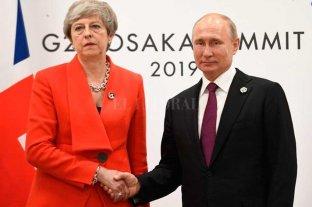 May le reprochó a Putín por el envenenamiento del ex espía Sergei Sripal