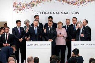 Macri celebró el acuerdo Mercosur-UE en el cierre de la Cumbre del G20