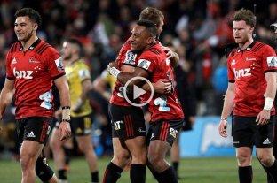 Crusaders será el rival de Jaguares en la final del Súper Rugby