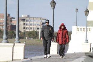 Viernes húmedo y algo frío en la ciudad -  -