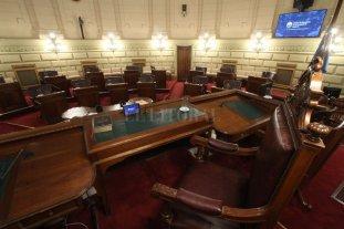 Poco movimiento en la legislatura provincial