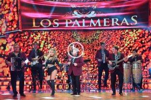 Video: así fue la presentación de Los Palmeras en ShowMatch