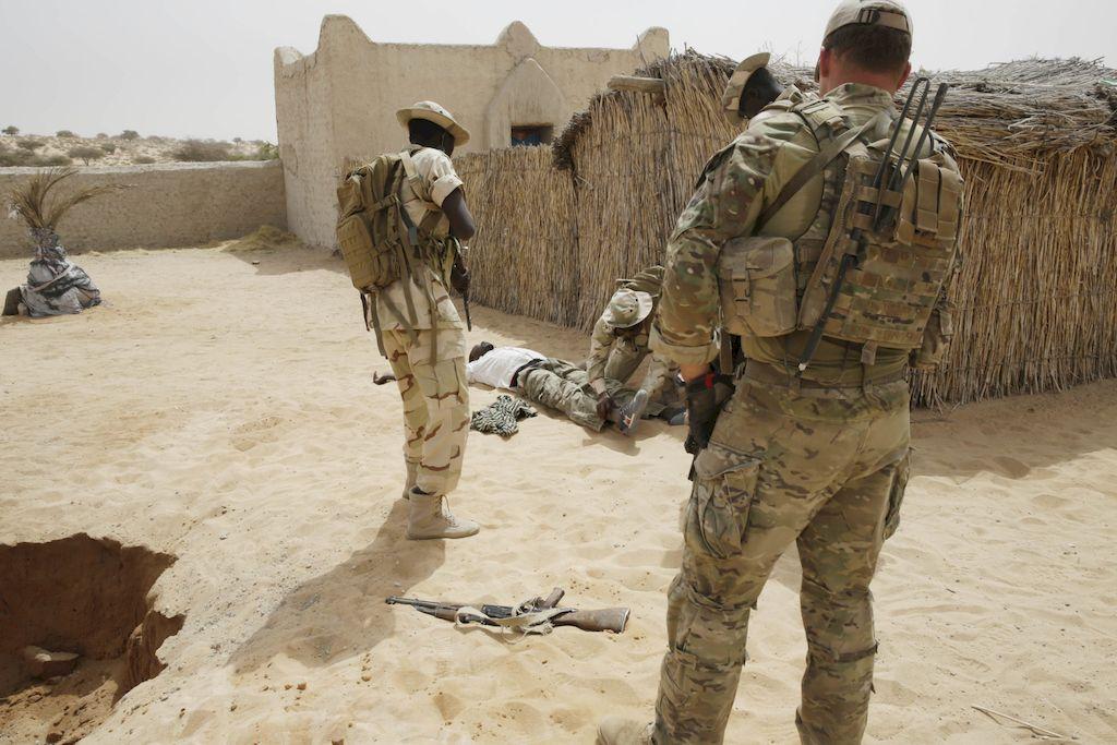 Soldados en Niger <strong>Foto:</strong> Imagen ilustrativa.