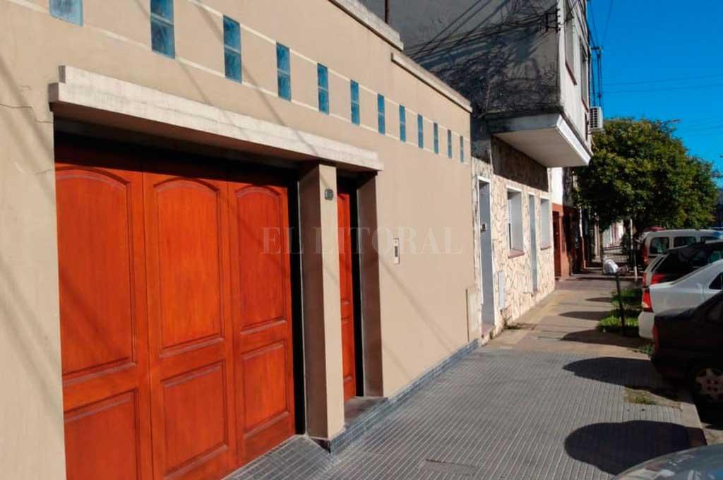 El domicilio siniestrado se ubica en Salvador Caputto 3500. <strong>Foto:</strong> El Litoral