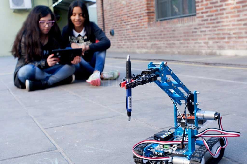 La programación y la robótica tendrán un rol fundamental en el nuevo armado de la educación. Crédito: El Litoral