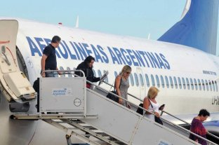 Aerolíneas Argentinas transportó en junio un 17% más de pasajeros que en el mismo mes de 2018