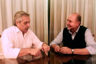 Perotti cenó con Alberto Fernández