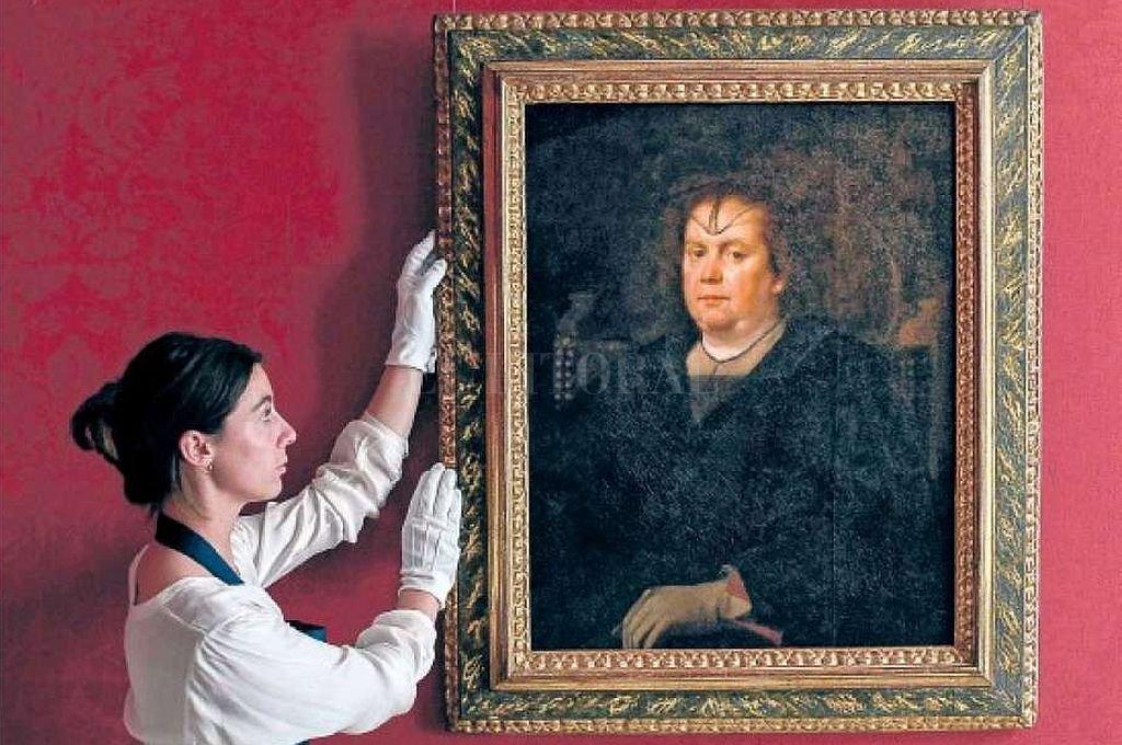 'La Amante del Vaticano', del español Diego Velázquez. <strong>Foto:</strong> Captura digital