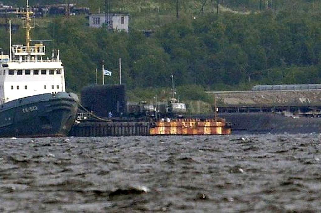 El sumergible pertenecía a la Flota Rusa del Norte en Severomorsk. <strong>Foto:</strong> Getty Images
