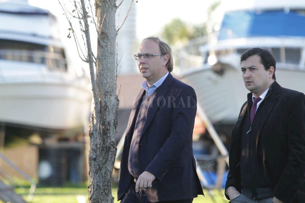 Gonzalo Saglione, ministro de Economía desde el inicio de la gestión de Lifschitz. <strong>Foto:</strong> Pablo Aguirre
