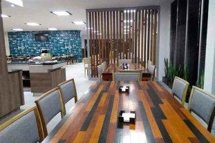Presentaron el nuevo bar y el avance de obras en el Aeropuerto Metropolitano