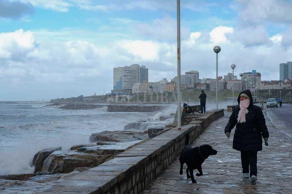 Mar del Plata podría tener caída de aguanieve Crédito: Télam
