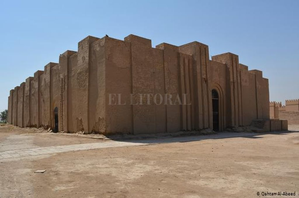 El Templo Nimna de Babilonia en Irak <strong>Foto:</strong> Qahtan Al Abeed