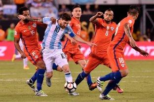 Argentina le gana a Chile en el partido por el tercer puesto