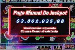 Un hombre ganó casi cuatro millones en el casino