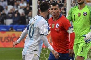 Messi vs. Medel