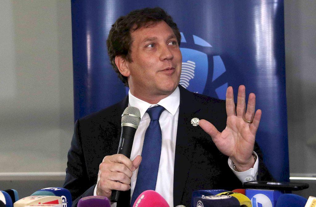 Alejandro Domínguez, presidente de la Conmebol. Crédito: Archivo