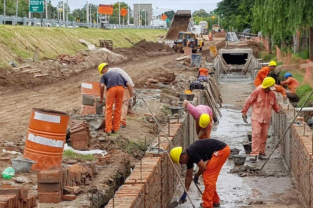 Los trabajos que se realizan en el corredor tienen en promedio un 25 % de avance, indicaron fuentes gubernamentales. <strong>Foto:</strong> Gentileza