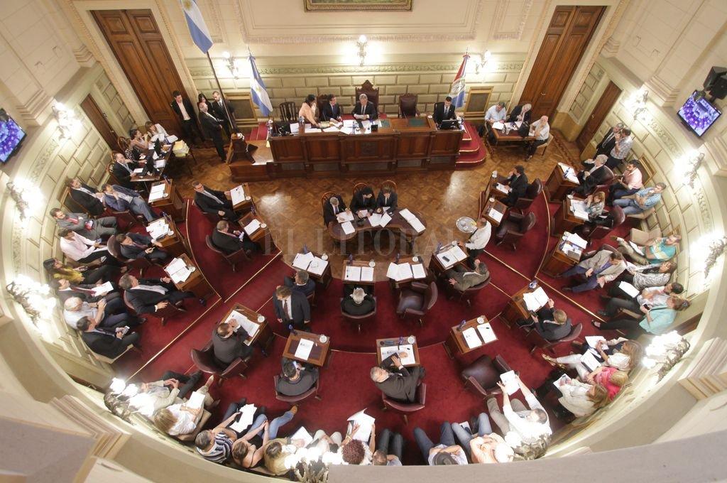 El nuevo bloque justicialista de la Cámara de Senadores de la Provincia, tendrá 12 miembros. <strong>Foto:</strong> Luis Cetraro