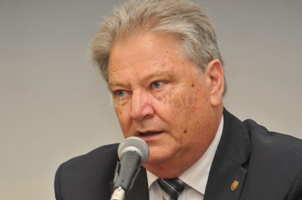 Carlos Fascendini, actual presidente de la Cámara de Senadores. Crédito: Flavio Raina