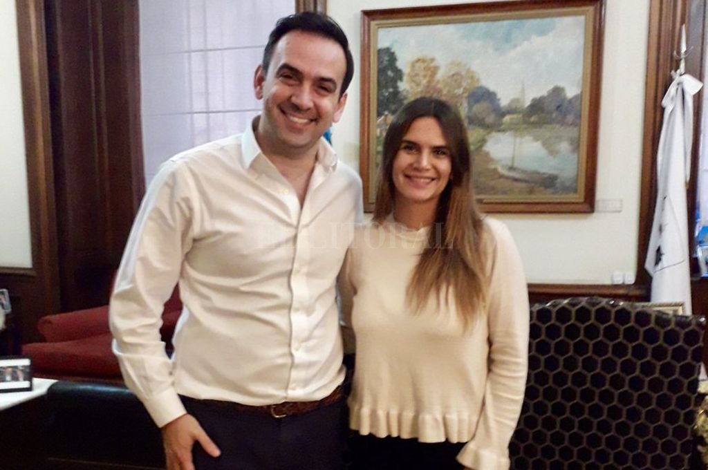 Amalia Granata reflejó su reunión con Francisco Quintana a través de la red del pajarito. Crédito: Twitter de Amalia Granata