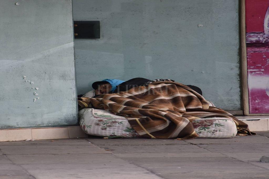 Desde el municipio recordaron que las personas son trasladadas sólo si lo aceptan de voluntariamente. <strong>Foto:</strong> Flavio Raina