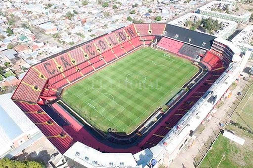 La última imagen del estadio Brigadier Estanislao López. Crédito: Prensa Colón
